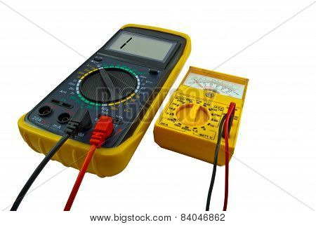 Digital And Pointer Multimeters