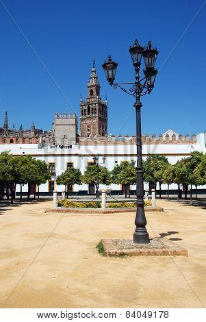 Patio de las Banderas, Seville.