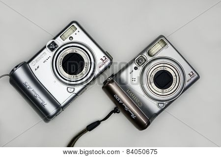 Photocamera Canon Powershot In Private Collection On November 23, 2014