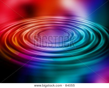 poster of water ripple background