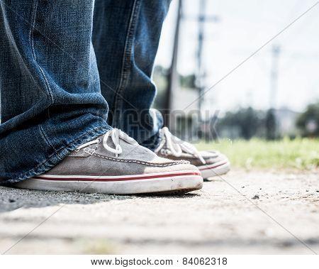Standing Around