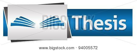 Thesis Text Blue Grey Horizontal