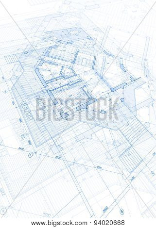 Architecture design vector photo free trial bigstock architecture design blueprint vector illustration malvernweather Gallery