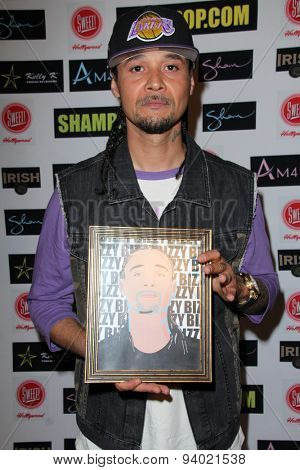 LOS ANGELES - JUN 4:  Bizzy Bone at the Celebrity Selfies Art Show by Sham Ibrahim at the Sweet! Hollywood on June 4, 2015 in Los Angeles, CA