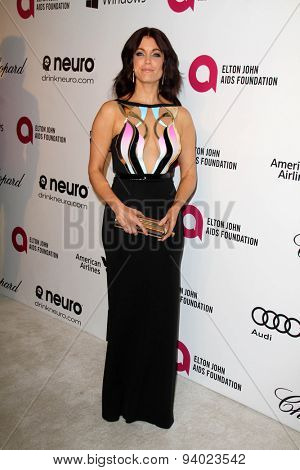 LOS ANGELES - MAR 3:  Bellamy Young at the Elton John AIDS Foundation's Oscar Viewing Party at the West Hollywood Park on March 3, 2014 in West Hollywood, CA