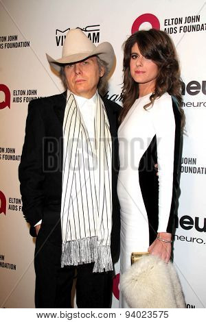 LOS ANGELES - MAR 3:  Dwight Yoakam at the Elton John AIDS Foundation's Oscar Viewing Party at the West Hollywood Park on March 3, 2014 in West Hollywood, CA
