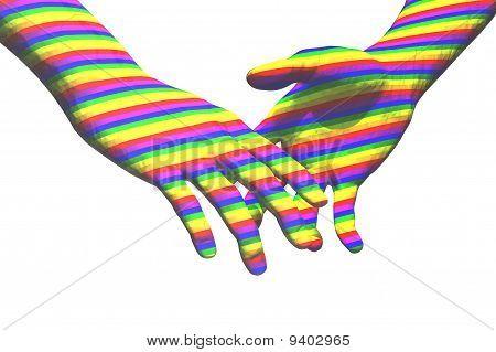 Homosexuell Hände