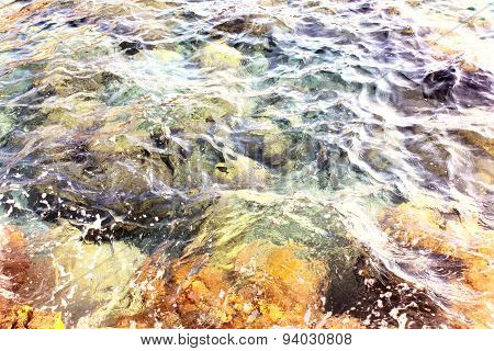 The sea in Croatia
