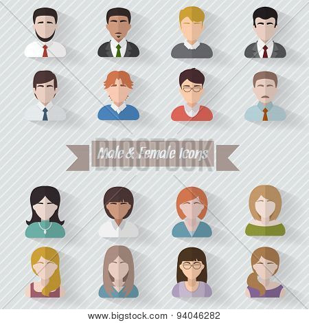 People userpics icons