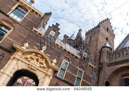 Eingangstor Des Binnenhofs In Den Haag