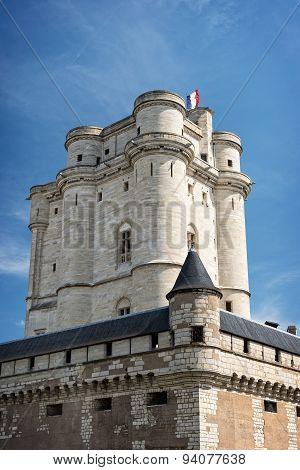 Vincennes Castle in Paris, France