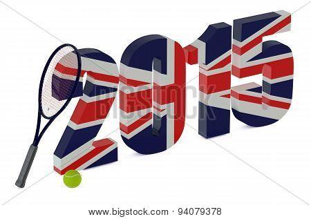 Wimbledon Championships 2015 Concept