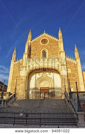 St. Jerome The Royal Church In Madrid