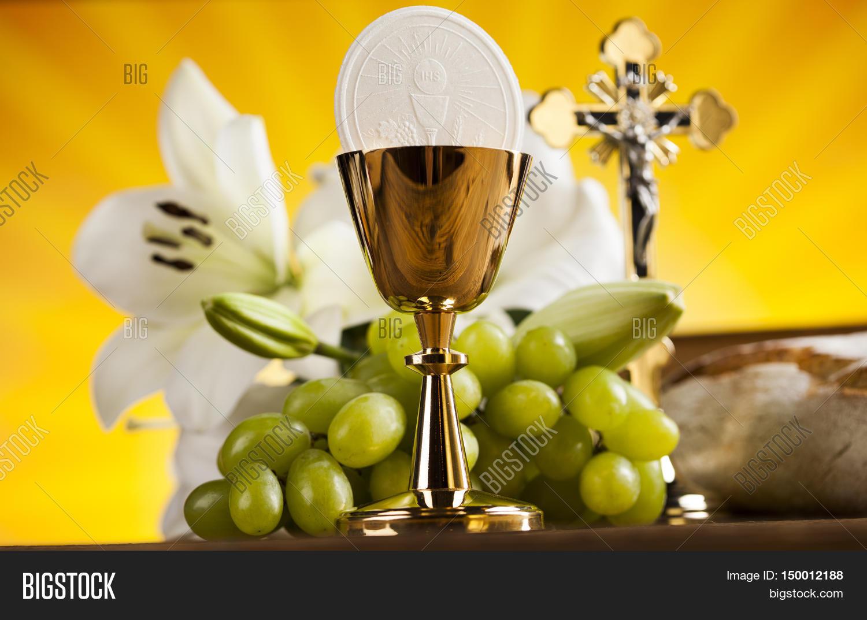 holy communion bread image photo free trial bigstock