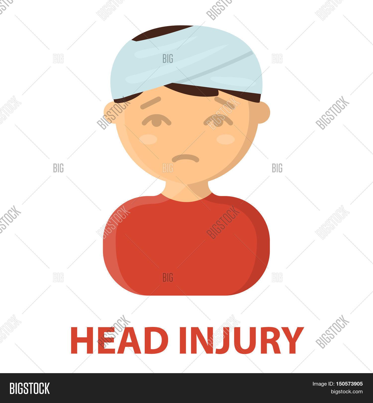 Head Injury Icon Image & Photo (Free Trial)   Bigstock