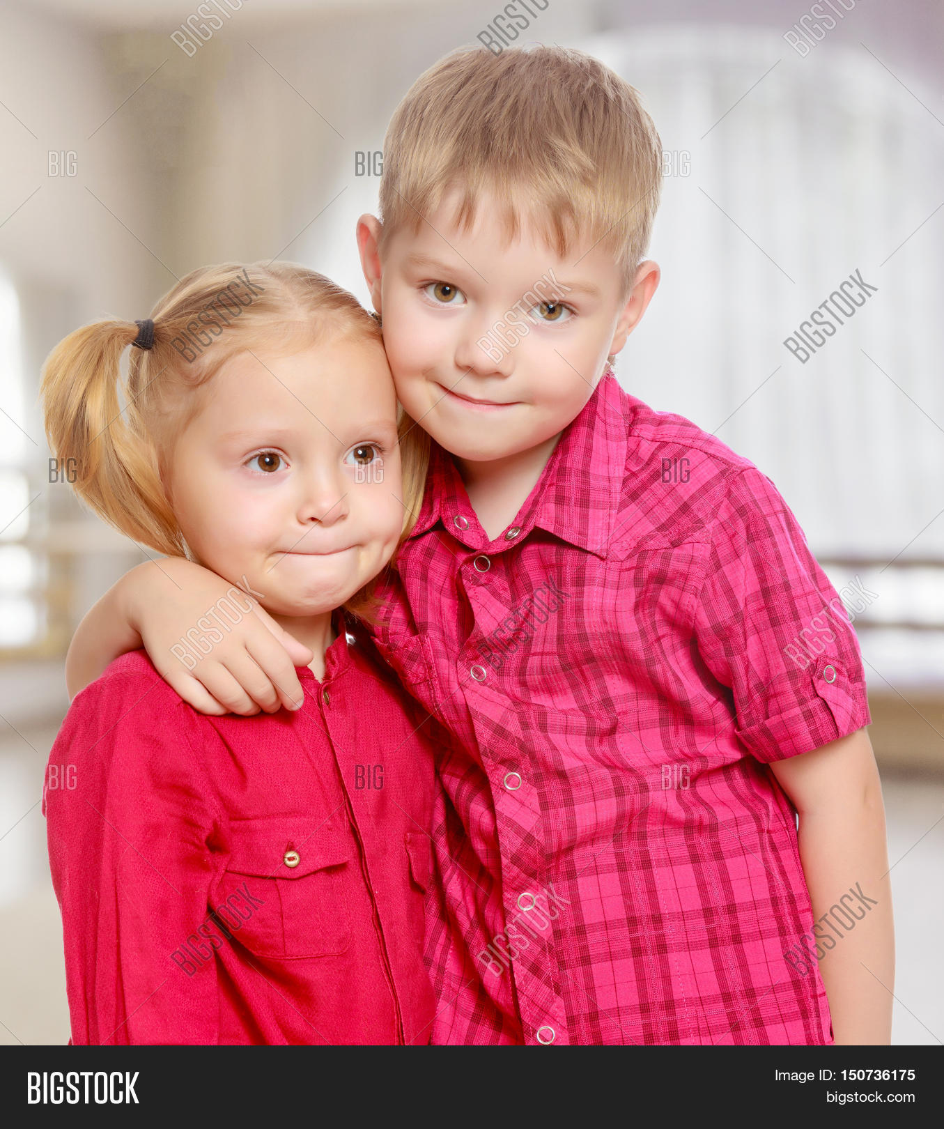 Little Brother Sister Image Photo Free Trial Bigstock