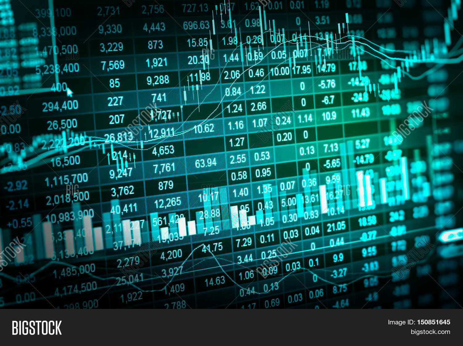 Financial Stock Market Image & Photo (Free Trial) | Bigstock