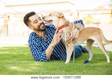 Having A Good Time With My Dog