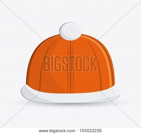 bobbie hat icon. Accessory cloth costume and wear theme. Colorful and isolated design. Vector illustration
