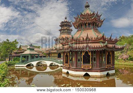 Phra Kaew Pavilion, Ancient Cityf Bangkok
