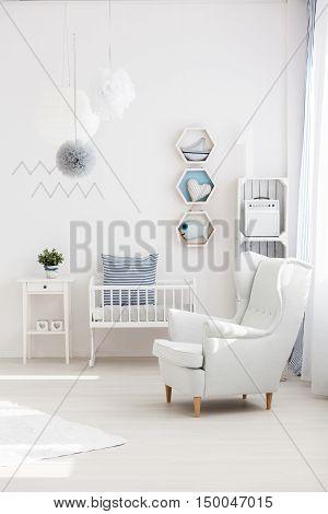 Armchair In Baby Room
