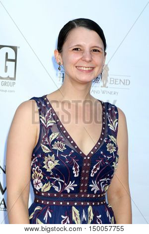 LOS ANGELES - SEP 30:  Katina Meers at the Catalina Film Festival - Friday at the Casino on September 30, 2016 in Avalon, Catalina Island, CA