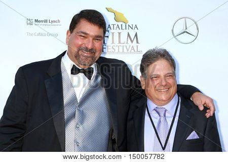 LOS ANGELES - SEP 30:  Tom Rico, Ralph Boscaino at the Catalina Film Festival - Friday at the Casino on September 30, 2016 in Avalon, Catalina Island, CA