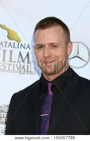 LOS ANGELES - SEP 30:  Christopher Folkens at the Catalina Film Festival - Friday at the Casino on September 30, 2016 in Avalon, Catalina Island, CA
