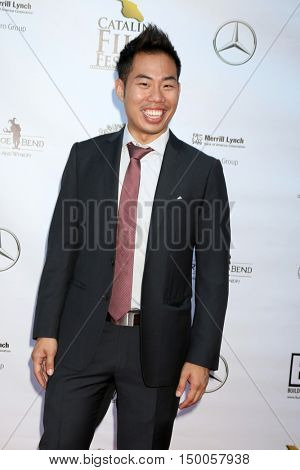 LOS ANGELES - SEP 30:  Brian L Tan at the Catalina Film Festival - Friday at the Casino on September 30, 2016 in Avalon, Catalina Island, CA