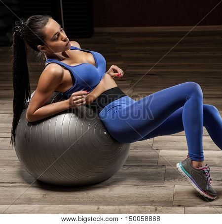 Fitness, Sport, Training And People Concept