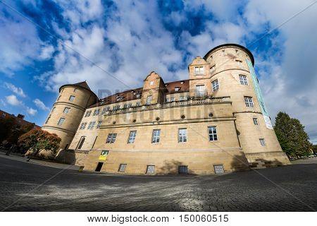 Baden Wuerttemberg Landesmuseum Exterior Castle Schlossplatz Stuttgart Germany Architecture Destination