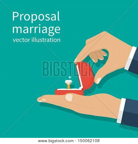 Proposal Marriage, Vector
