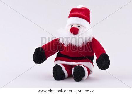 Santa Claus Sitting Front