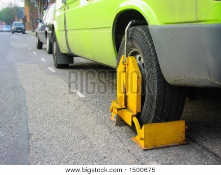 Clamped Vehicle