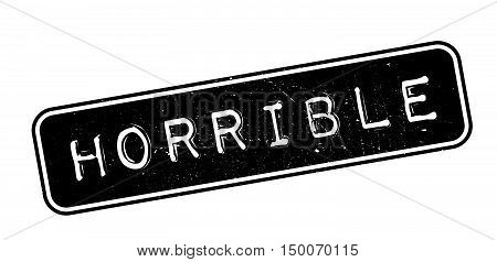 Horrible Rubber Stamp