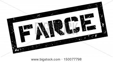 Farce Rubber Stamp