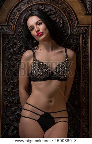 Beautiful Woman In Erotic Lingerie.