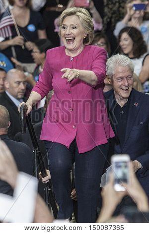 29 July 2016 - PhiladelphiaPA - Secretary Hillary Clinton Democratic Presidential Nominee rally in Philadelphia.
