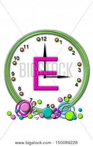 Alphabet Timeless E