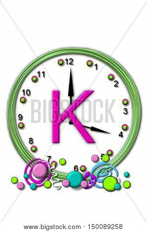 Alphabet Timeless K
