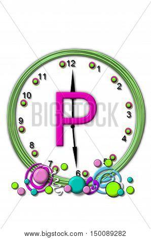 Alphabet Timeless P