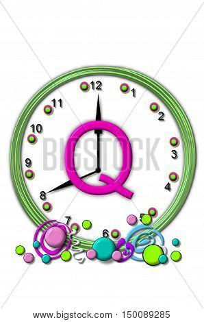 Alphabet Timeless Q