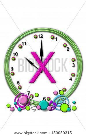 Alphabet Timeless X