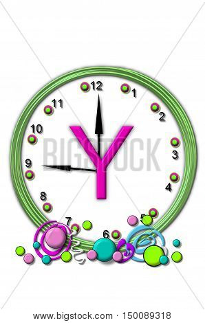 Alphabet Timeless Y