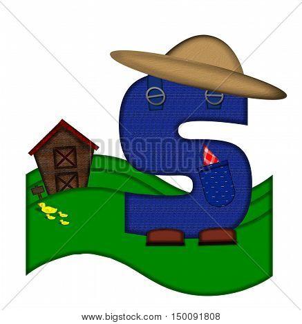 Alphabet Down On The Farm S