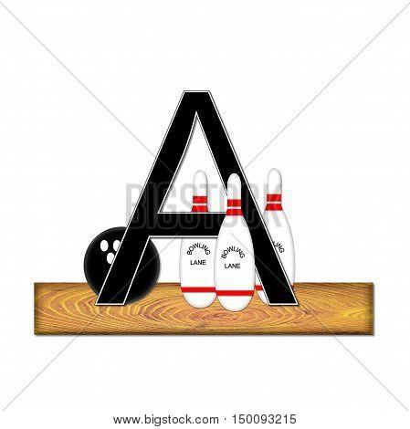 Alphabet Bowling A