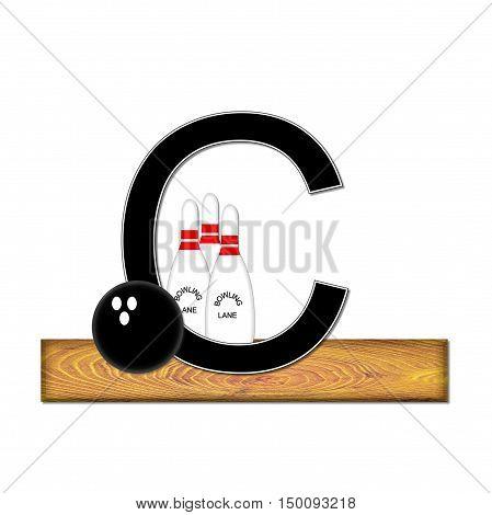 Alphabet Bowling C