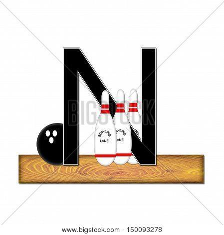 Alphabet Bowling N