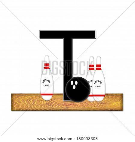 Alphabet Bowling T