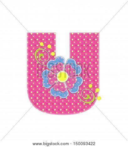 Alphabet Bonita U